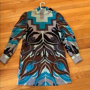 TIBI printed dress Size 4